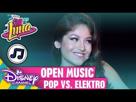 SOY LUNA - Pop-Romanze vs. Electro-Hymne (Open Music) | Disney Channel Songs