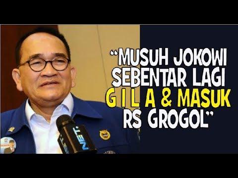 Ruhut Sebut Lawan Jokowi  Stres, Bakal Gila dan Masuk RS Jiwa Grogol
