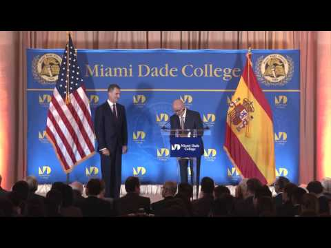King Felipe VI of Spain - Inaugural Master Lecture