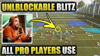 UNBLOCKABLE BLITZ ALL PRO PLAYERS USE | Insane Easy Nano Blitz Glitch Set Up | Madden 19 Tips