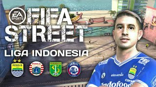 Download FIFA STREET 2 Mod Liga 1 Indonesia [70 mb] - PPSSPP