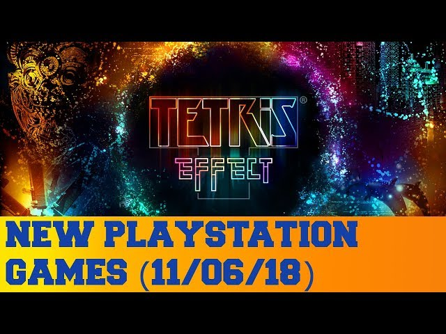 New PlayStation Games for November 6th 2018