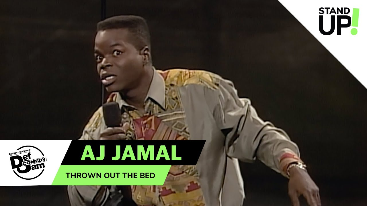 AJ Jamal Talks Wild Bedroom Activity | Def Comedy Jam | Laugh Out Loud Network