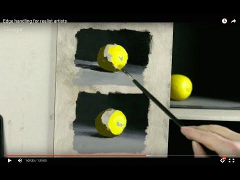 Edge handling for Oil Painters