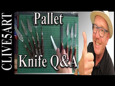 Pallet Knife, Acrylic Painting for beginners