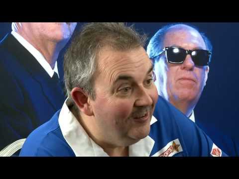 Phil Taylor talks to Stuart Pyke