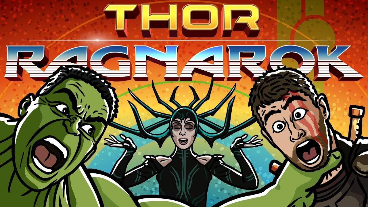 Thor: Ragnarok Trailer Spoof   TOON SANDWICH