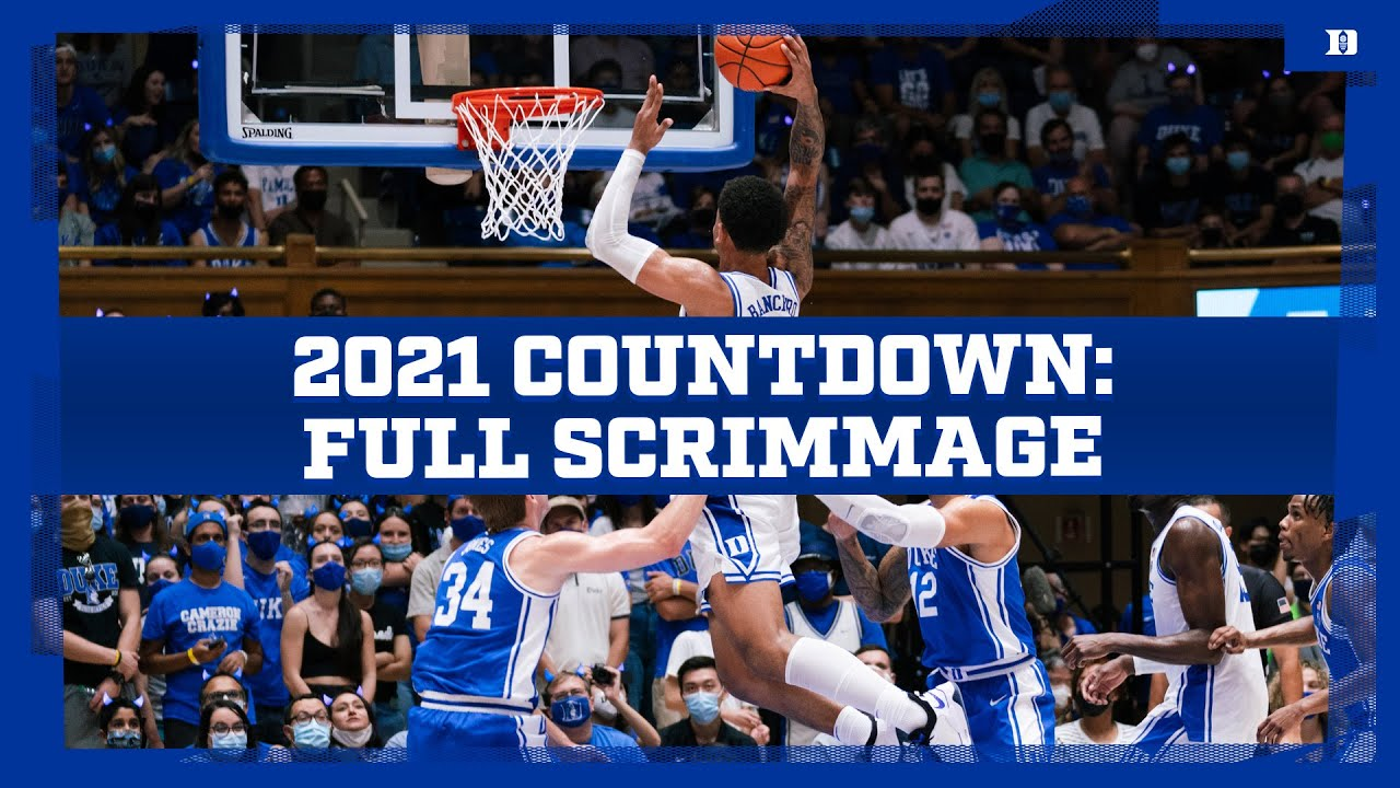 2021 Countdown to Craziness: Full Scrimmage