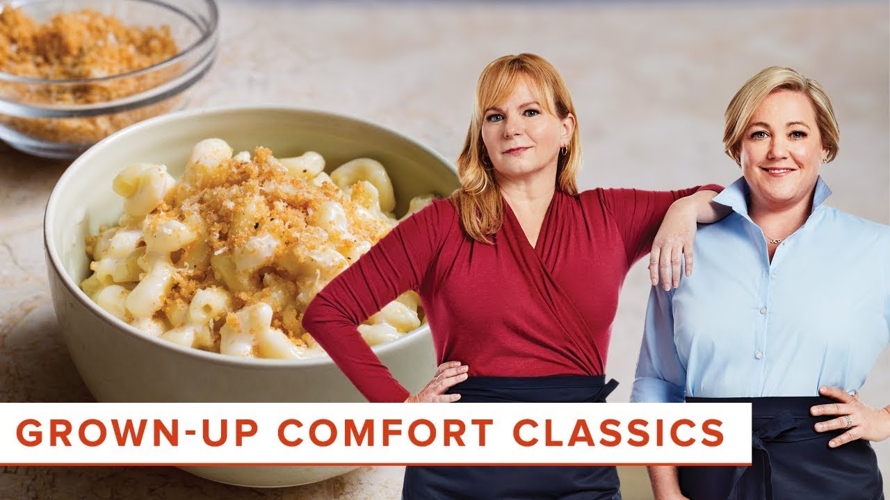 Grown Up Comfort Classics Stovetop Mac And Cheese And Turkey Meatloaf