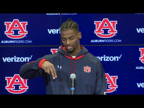 Auburn Receiver Darius Slayton Discusses Preseason Practice