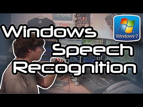 Windows 7 Speech Recognition