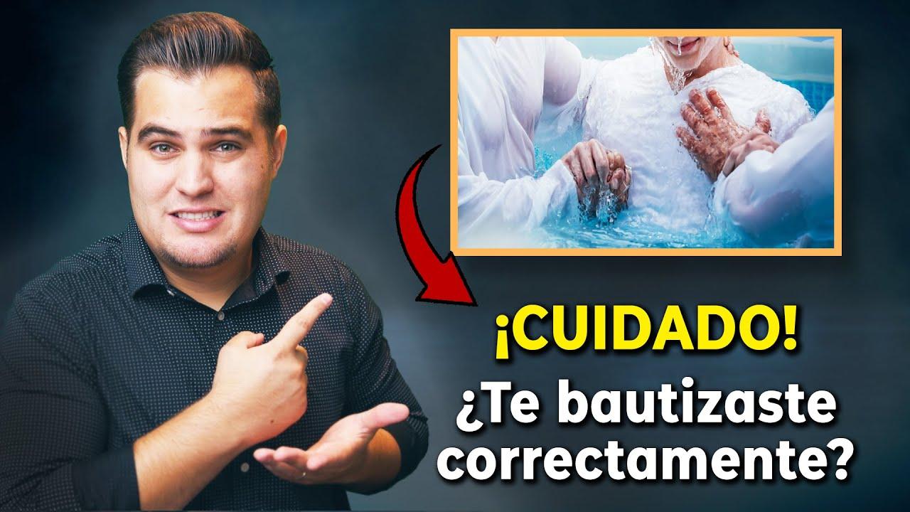 LA VERDAD DEL BAUTISMO ¿Es necesario para ser salvo? ¿En qué nombre se debe bautizar?