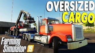 HUGE CARGO CONVOY & LOGGING CAMP SETUP | Farming Simulator 19 Gameplay