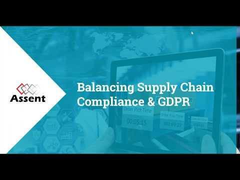 [Webinar] Balancing Supply Chain Compliance and GDPR