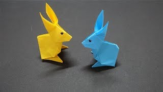 How to make a paper Rabbit? Easy Origami  Animal