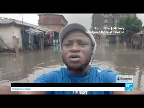 Les inondations à répétition à Abidjan et des bouteilles plastique transformées en briques a...