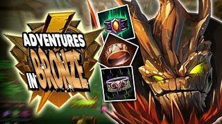 Smite: Adventures in Bronze Duel - Sylvanus  Vs. Vulcan - Auto Attack Build Challenge!