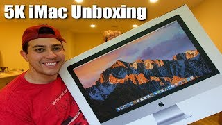 5k iMac Unboxing | My First Video