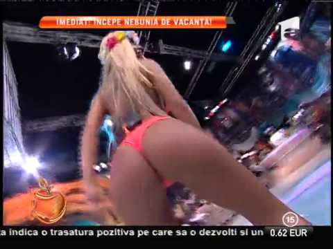 Ana maria mocanu and loredana chivu dancing in club - 3 part 1