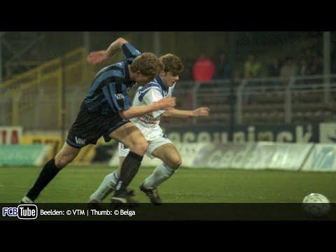 1994-1995 - Beker Van België - 02. 8ste Finale - Club Brugge - AA Gent 4-0