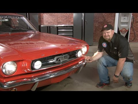 mustang fog light conversion kit 1965 installation youtube rh youtube com