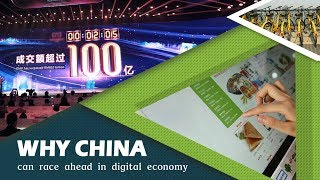 Why China can race ahead in the digital economy