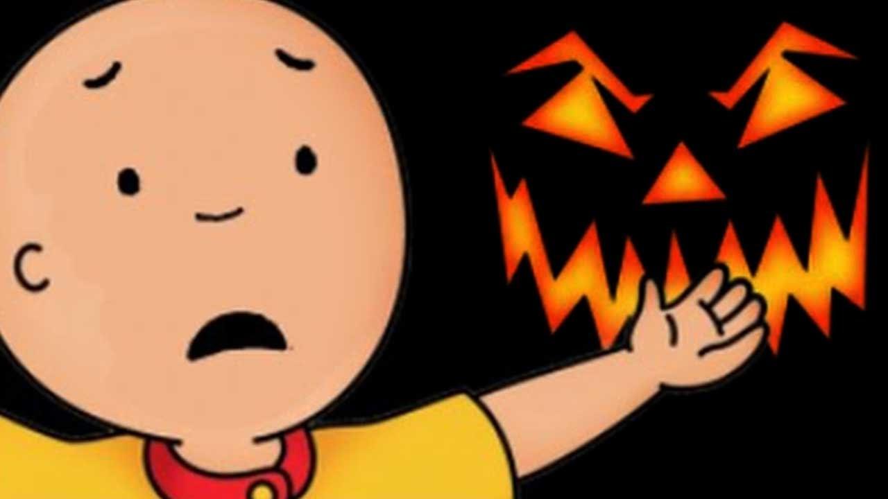 Caillou a caillou le gusta halloween dibujos infantiles dibujos pekes youtube - Dessin pour halloween ...