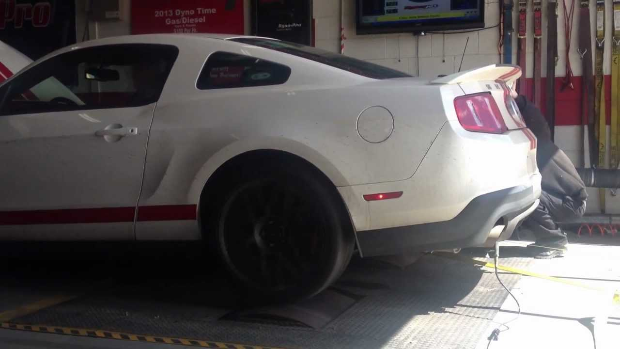 2012 gt500 shelby VMP pulley and tune dyno