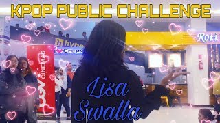 Gambar cover [KPOP IN PUBLIC CHALLENGE] LISA (리사) BLACKPINK SOLO DANCE - SWALLA by Call Team from Indonesia