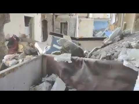 Шокуюче відео зсередини будинку у Києві, де стався вибух (18+)
