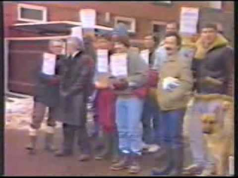 British Telecom Strike 1987 - TV Coverage in the Eastern Region - Approx 20mins