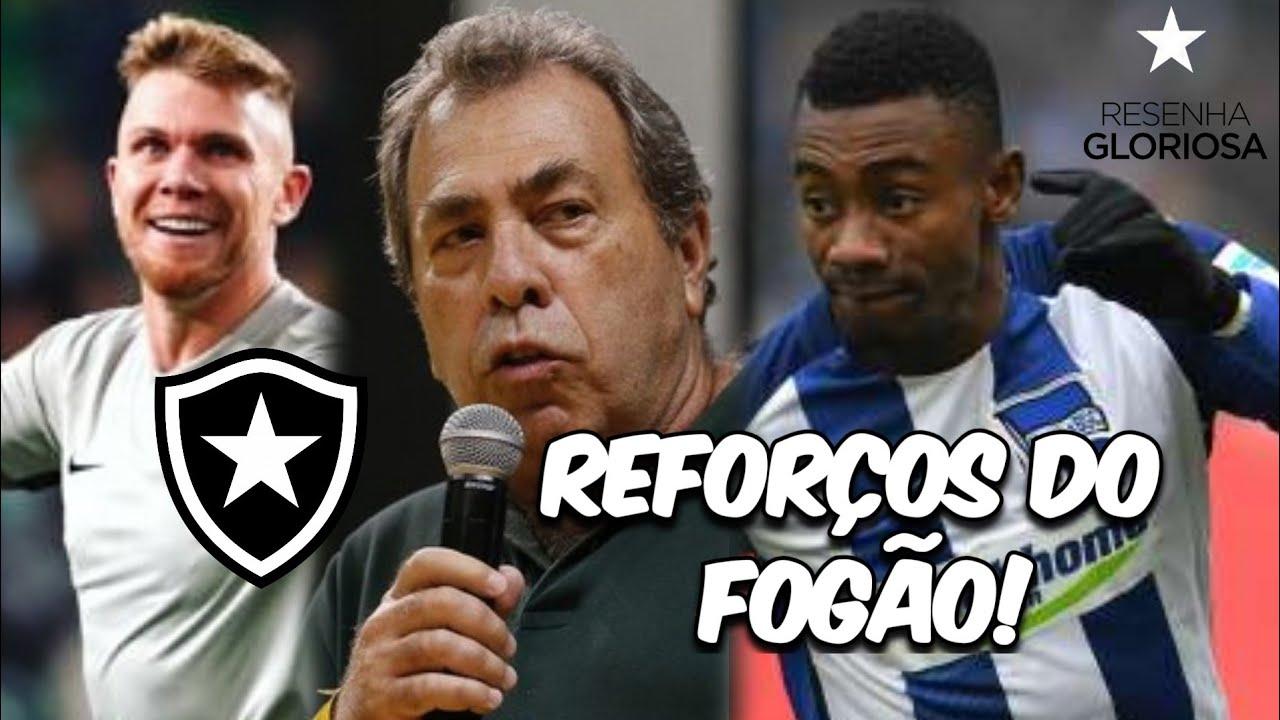 BOTAFOGO S/A: REFORÇOS PARA O BRASILEIRÃO : PACOTÃO DE NOTÍCIAS: KALOU E RAFAEL FORSTER ATÉ 2021