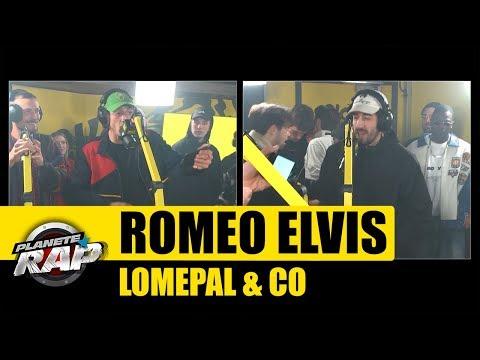 Roméo Elvis, Lomepal - Session freestyle avec Buds Penseur, Sopico, Le 77 & Yassine #PlanèteRap