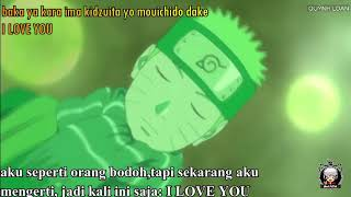 LAGU jepang romantis (mou ichido dake i love you) naruto & hinata
