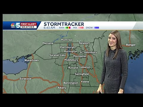 Video: Snow is possible on Christmas Eve 12/23/18