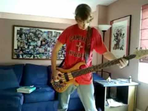 Iron Maiden The Pilgrim bass cover