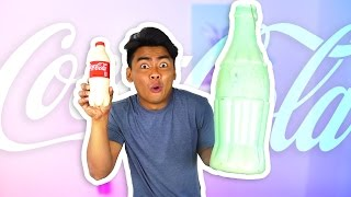 DIY GIANT CHOCOLATE COKE BOTTLE!