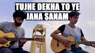 Tujhe Dekha To Ye Jana Sanam Guitar Instrumental | The Shepherds