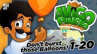 Don't Burst those Balloons! It's Amigo Pancho 2 Super Funny Puzzler