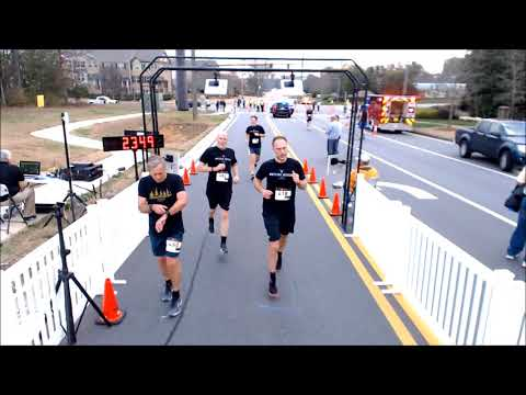 2018 Milton Mayors Jog for a Cause 5K Finish