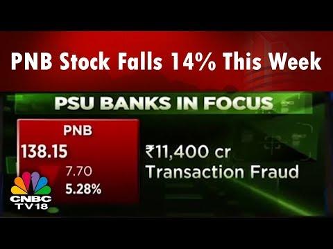 Transaction Fraud: PNB Stock Falls 14% This Week | CHART BUSTER | CNBC TV18