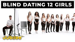 12 vs 1: Speed Dating 12 Girls Without Seeing Them | Versus 1