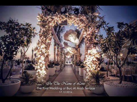 In The Name of love – Burj Al Arab Terrace – Eventchic Designs, Dubai Wedding