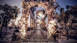 In The Name of love - Burj Al Arab Terrace - Eventchic Designs, Dubai 2016