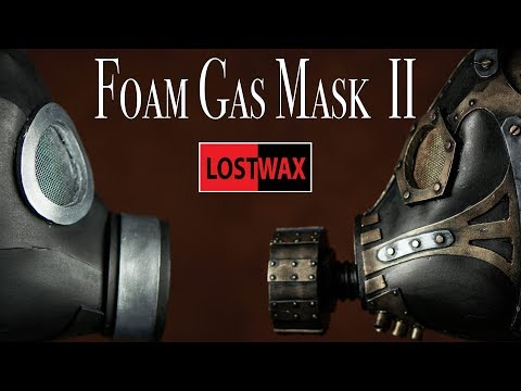 Steampunk Gas Mask Pattern Tutorial Part 2: Painting and outtakes.