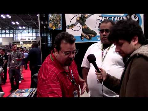 The Outerhaven Interviews Section Eight Comics at NYCC 2015