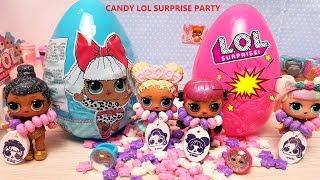 КУКЛЫ ЛОЛ СЮРПРИЗ МУЛЬТИКИ! БОЛЬШИЕ ЯЙЦА ЛОЛ СО СЛАДОСТЯМИ #lolsurprise #doll