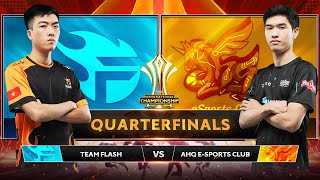 TEAM FLASH vs AHQ E-SPORTS CLUB - Tứ Kết AIC 2019 - Garena Liên Quân Mobile