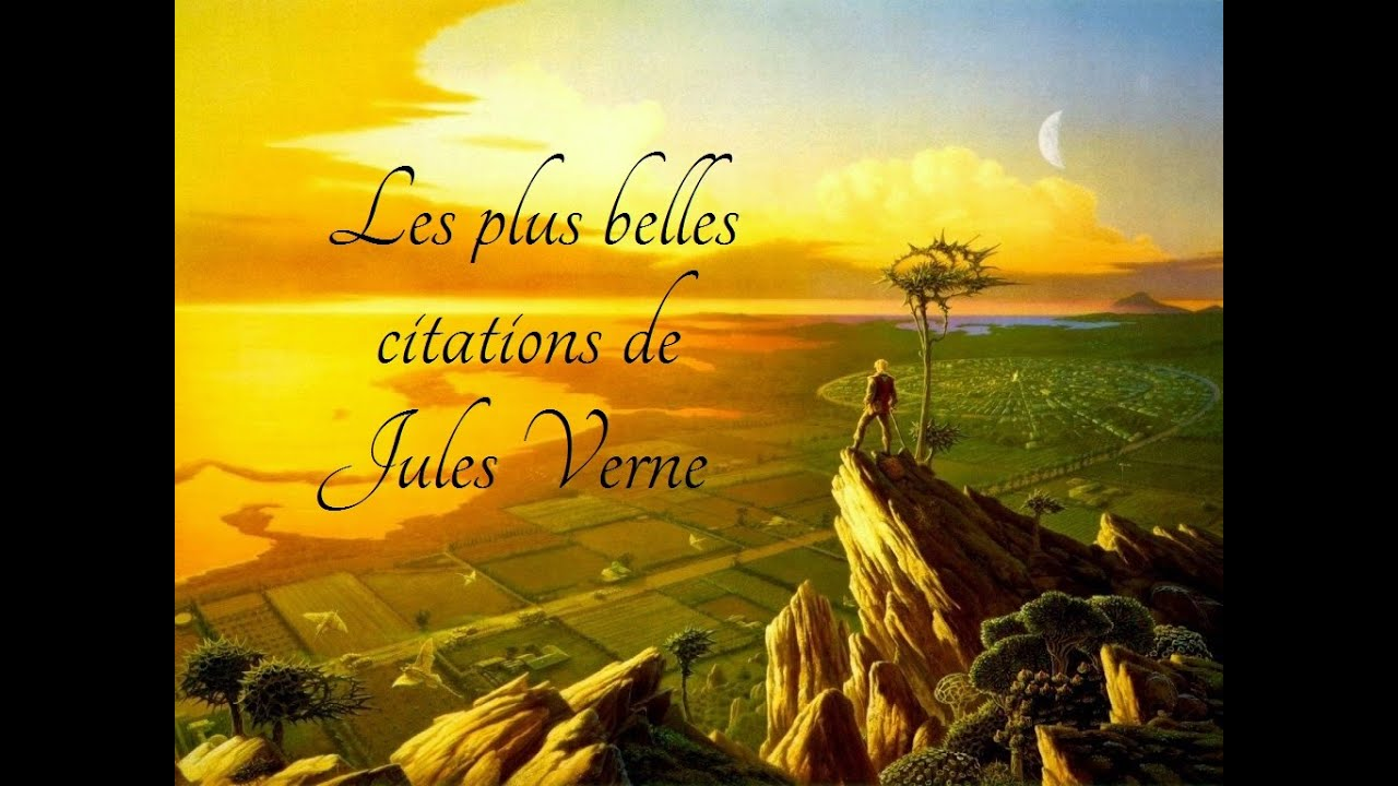 les plus belles citations de jules verne youtube. Black Bedroom Furniture Sets. Home Design Ideas