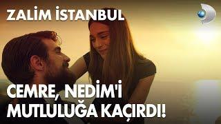 Cemre, Nedim'i mutluluğa kaçırdı! Zalim İstanbul 9. Bölüm Sezon Finali